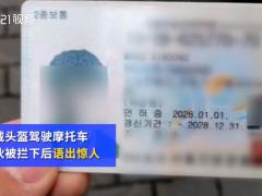 外卖员无证驾驶被查假装韩国人 网友:小哥会的多啊!